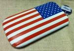 Чехол для HTC EVO 3D - Американский флаг.
