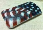 Чехол для HTC Desire S - Американский Флаг.
