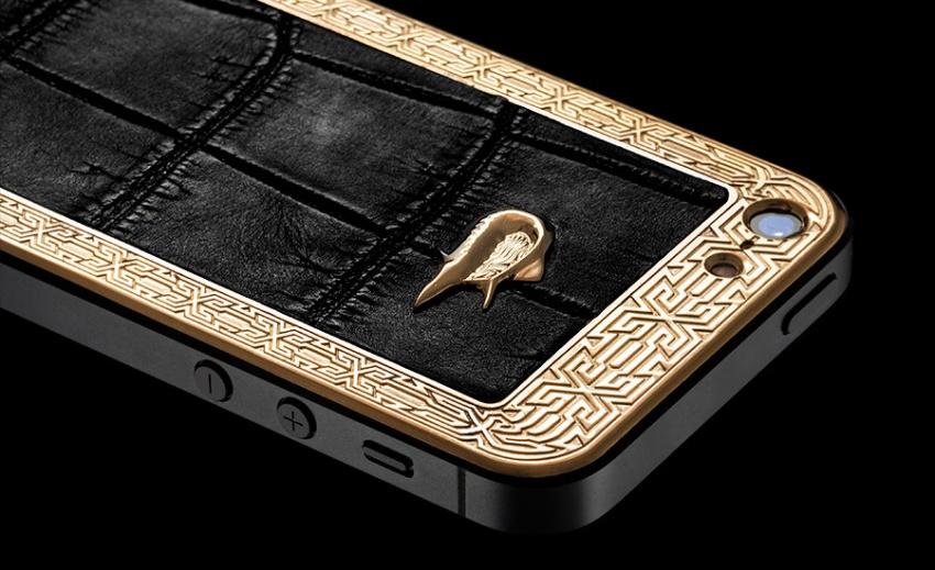 Lamborgini iPhone 5 gold
