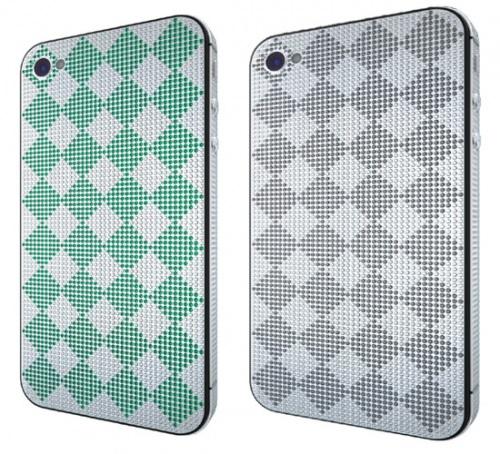iPhone 4 задняя панель - цветные бриллианты
