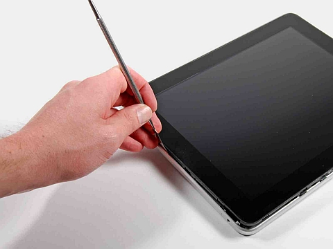 Вынимание (замена) стекла у iPad