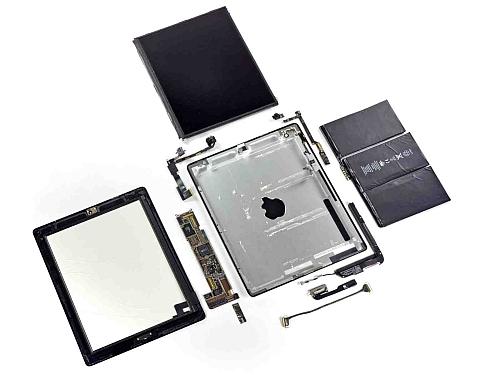 Взрыв-схема iPad 2