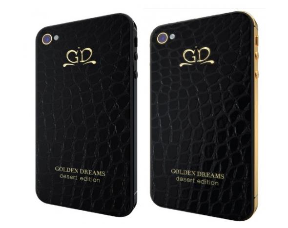 Задняя крышка iPhone 4/4S Golden Dream