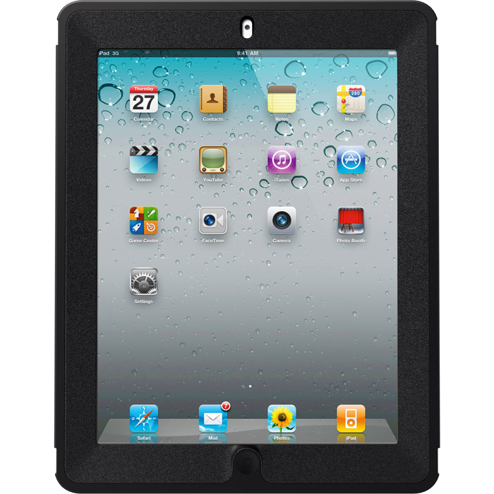 Otterbox new ipad case - вид с переди