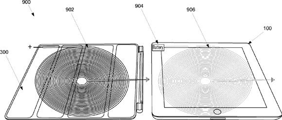Патент Apple на SmartCover с индуктивной зарядкой