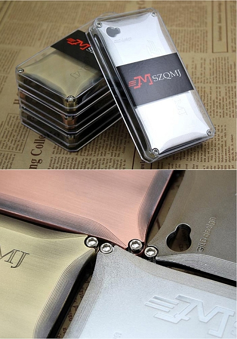 MSZQMJ Aluminum Metal Bumper Case доступны в различных цветах