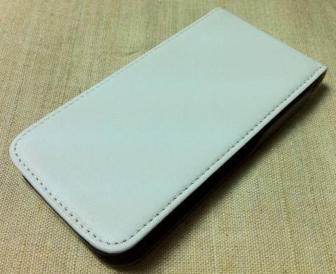Чехол для iPhone 4, белый, вид спереди